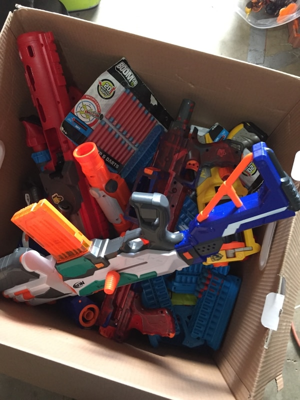 $75!!Nerf and boomco lot (with ammo) 471b94c3-7ab1-41be-add5-54fb34849243
