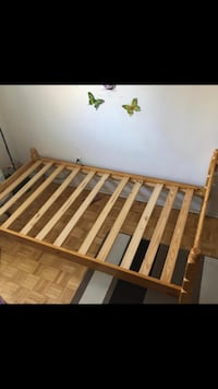 Crib and twin bed