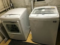LG washed and dryer