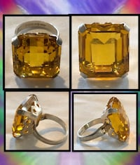 Vintage Yellow Topaz  Happy Valley, 97086