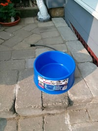 Dog water bowl New & heated