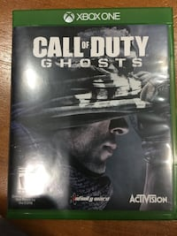 Call of Duty Ghosts Xbox One game case Herndon, 20171
