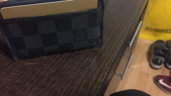 Damier graphite louis vuitton bifold wallet
