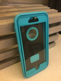 turquoise OtterBox 6 Plus iPhone case new Cape Canaveral, 32952
