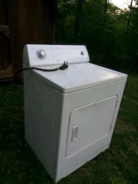 white front-load clothes dryer Rossville, 30741