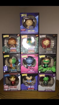 Funko Dorbz $5 each Cambridge, N1P 1A5