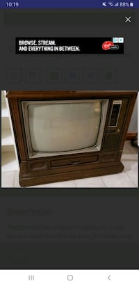 Vintage Tv **NEGOTIABLE** Vaughan