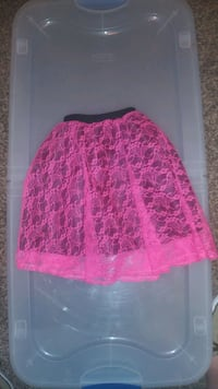Lil Girls Lacy Skirt