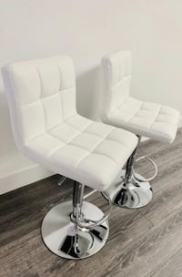 Set of 2 chair bar stools new in box.  Clifton, 07011