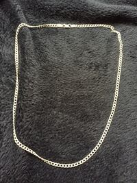 Mens 925 silver Italy stamped chain