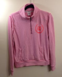 pink zip-up hoodie London