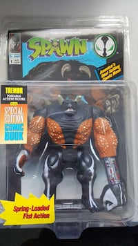 1994 SPAWN Tremor Action Figure & Comic Book  Dale City, 22193