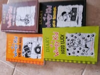 BOOKS - DIARY of the wimpy kid books 7-10 Windsor, N8P 1W7