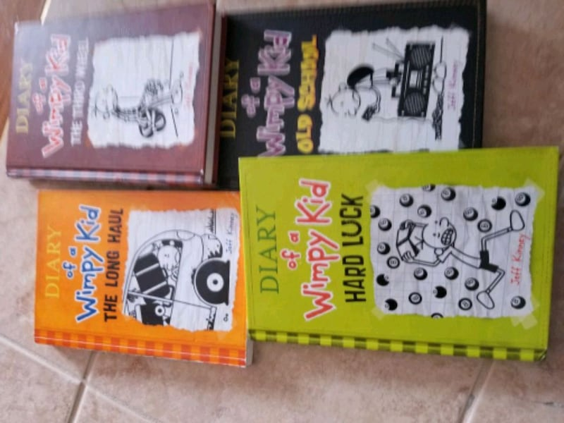 BOOKS - DIARY of the wimpy kid books 7-10 ce6ab956-8c0d-4881-a8ba-ce12fd5ee152