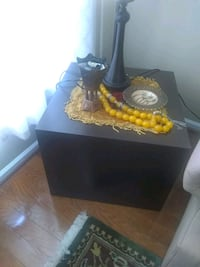 Solid wood side table 8 km