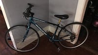 black and blue hardtail mountain bike Los Angeles, 90026