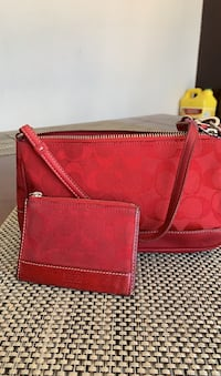 Coach purse and coin bag (authentic)