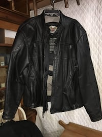 Genuine Harley Leather Jacket W/Full Liner null