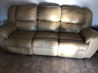 Ashley recliner leather sofa and love seat Gretna, 70056