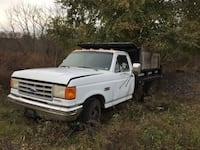 1990 F 350 cab N front end and drive train 7.3 engine part out only Slatington, 18080