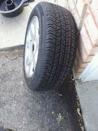 1New tyre on rim 3 used one on rim 205 55 16 Brampton, L6X 4S8