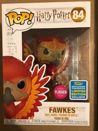 Harry Potter Fawkes - Funko Pop Limited Edition