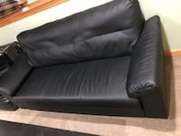 Black Leather Couch  Weymouth, 02190