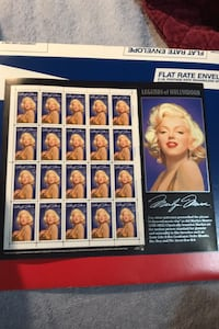 [TL_HIDDEN] ¢ Marilyn Monroe Legends Stamp Sheet MNH cheap $7 Beltsville, 20705