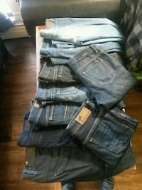 Assorted jeans for sale
