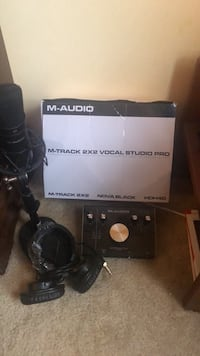 M-Audio  2x2 Vocal Studio Pro (Negotiable) Gaithersburg, 20877