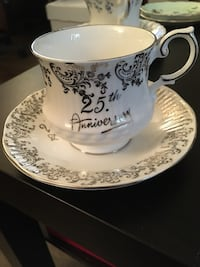 Queens cup and saucer