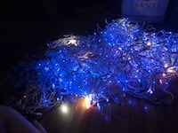 6 Twinkling Blue/White lights Pegram, 37143