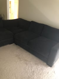 Charcoal sectional  FREDERICK