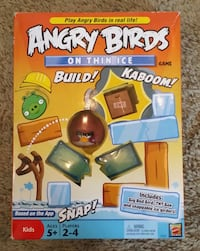 Angry Birds On Thin Ice Game NEW IN BOX  Modesto, 95355