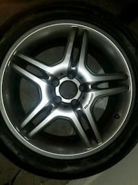 "18"" AMG Alloy wheel with tire Las Vegas, 89122"