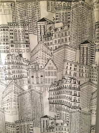 Cityscape Shower Curtain Washington, 20008