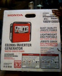Honda EB2800i INVERTER GENERATOR (JOBSITE POWER)