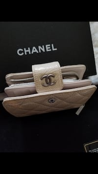 Authentic Chanel Quilted Caviar Leather Wallet Richmond, V7A 1H2