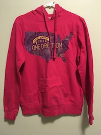 red pull-over hoodie Sherwood Park, T8A 1Z6