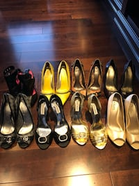 8 pairs of shoes all in great condition size 9 St Albert, T8N 1H9