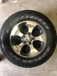 New Jeep wheels with tires/tpm 5 Ashburn, 20147