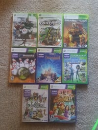 Variety XBOX 360 Games / Kinect Games