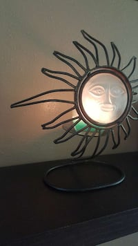 Sun style candle holder Chicago, 60625