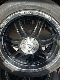 Core racing tires and rim's