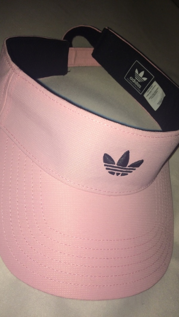 000567777d5 Used pink Adidas sun visor for sale in Tulsa - letgo