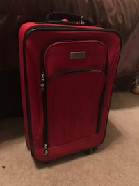 Red Luggage Bag
