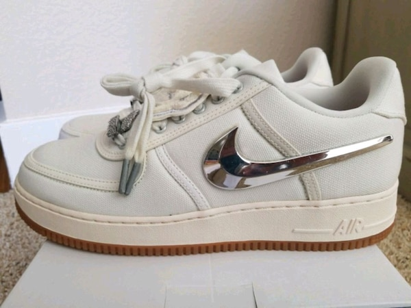 490602aed2b6d Μεταχειρισμένο NEW Air Force One Travis Scott Sail Size 9.5 προς πώληση σε San  Jose