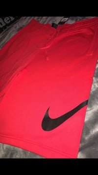 Red and black nike shorts  Lancaster, 93535
