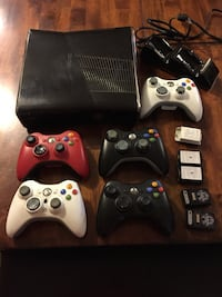 Xbox 360 S / 250 GB / 20+ games / 5 controllers Annapolis, 21409
