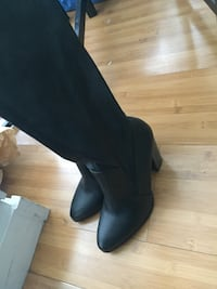 Brand New long leather boots Surrey, V3T 0C9